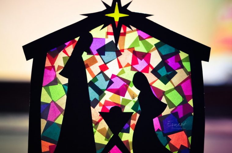 art and crafts  stained glass nativity scene  u2013 catholic teacher resources