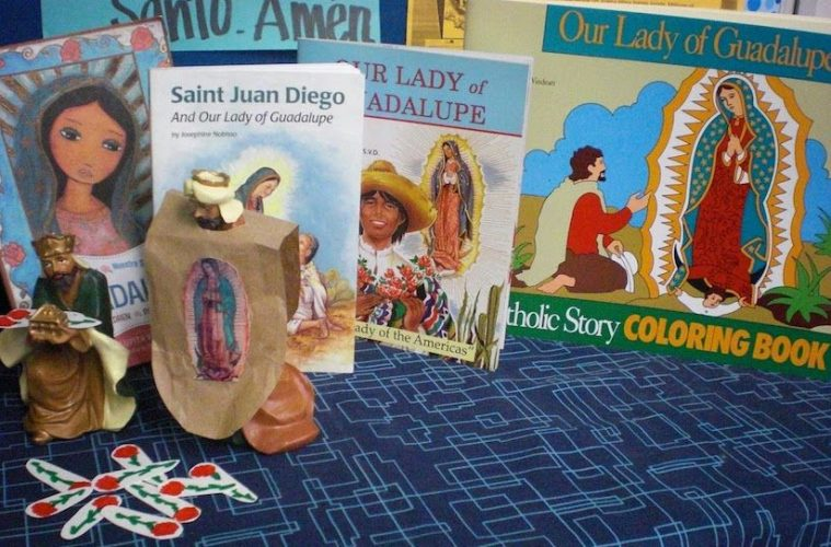 Teacher guide our lady of guadalupe altar ideas for Our lady of guadalupe arts and crafts